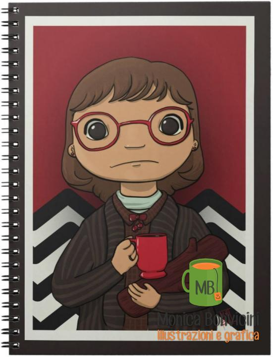 Log Lady - Twin Peaks fanart