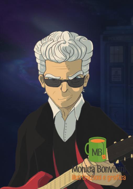 Doctor Who #12 - Capaldi fanart