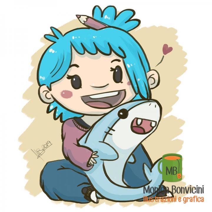 La mia versione superveloce di BARA art&shark per la sua #drawthisinyourstyle